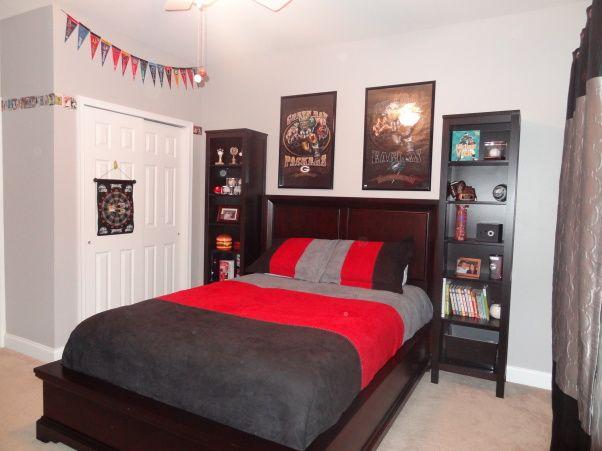 sports fan bedroom sports room boys