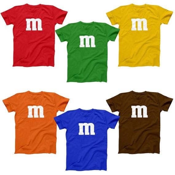 KIDS - M & Candy Costume Set Funny Humor Halloween Group Basic YOUTH T-Shirt DT0206 #mamp;mcostumediy