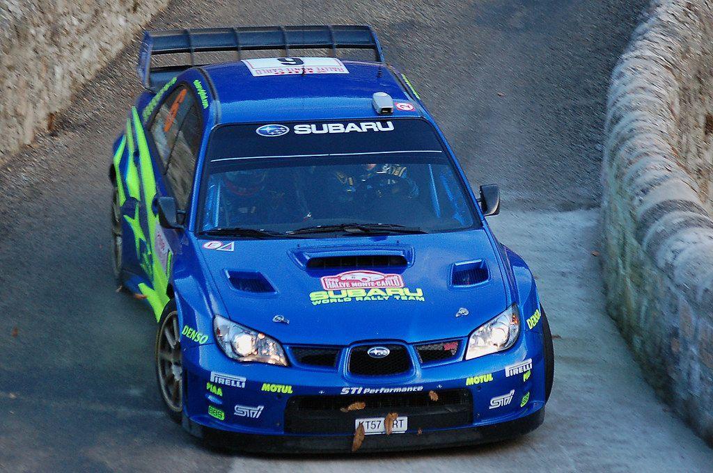 SUBARU Impreza WRC Christopher ATKINSON en 2020 Rallye