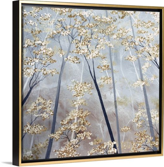 Taupe Forest | Taupe, Tree art and Canvases