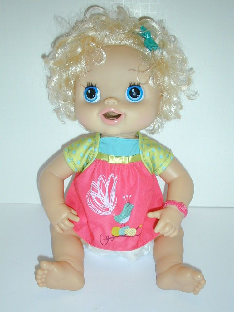 """baby alive interactive 17"""" doll"""