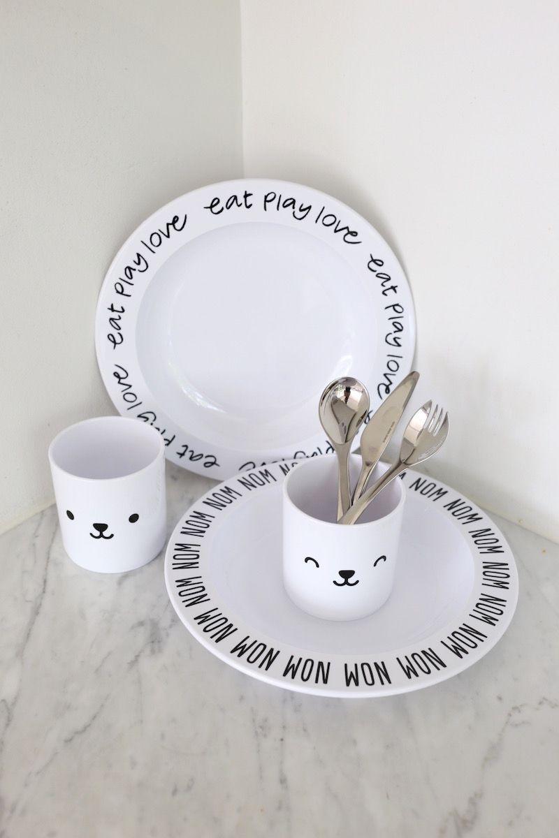 Homevialaura | kids tableware | Buddy and Bear | Georg Jensen Apetito