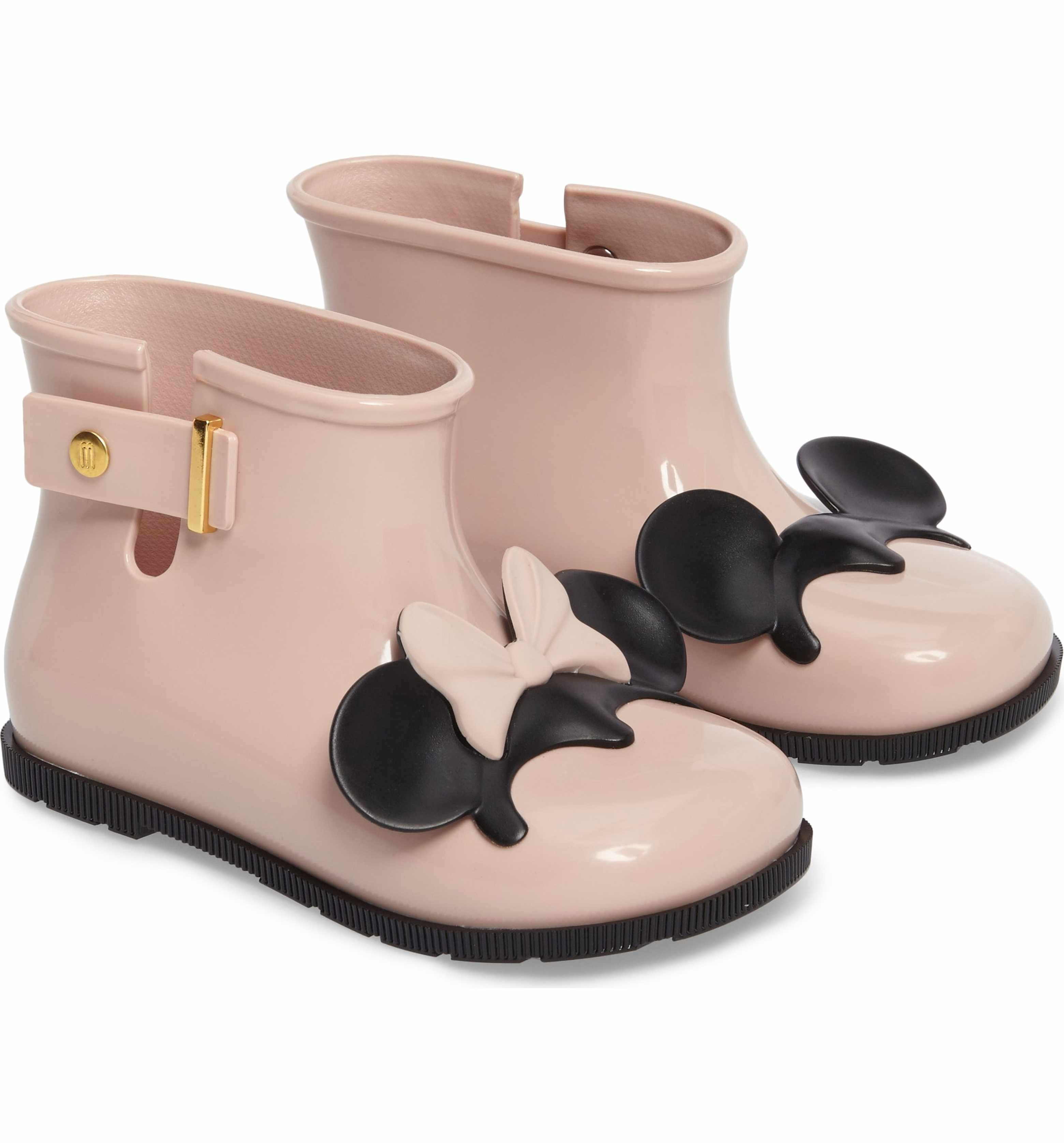 1fe84690bbbf9 Main Image - Mini Melissa Sugar Rain Disney Twins Waterproof Bootie (Walker    Toddler)