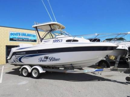Haines Hunter 680 Patriot Walk Around The Best On The Water Motorboats Powerboats Gumtree Australia Wanneroo Power Boats Motor Boats Used Boat For Sale