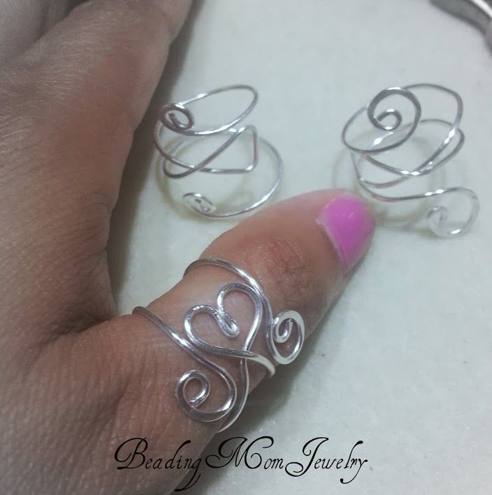 Heart adjustable cuff ring | JewelryLessons.com | Jewelry ...
