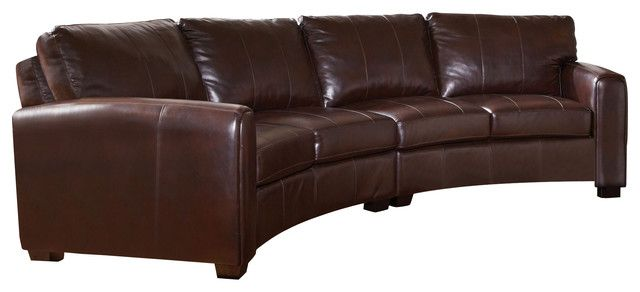 Leather Sofa Sectional, Curved Sectional Sofa Leather