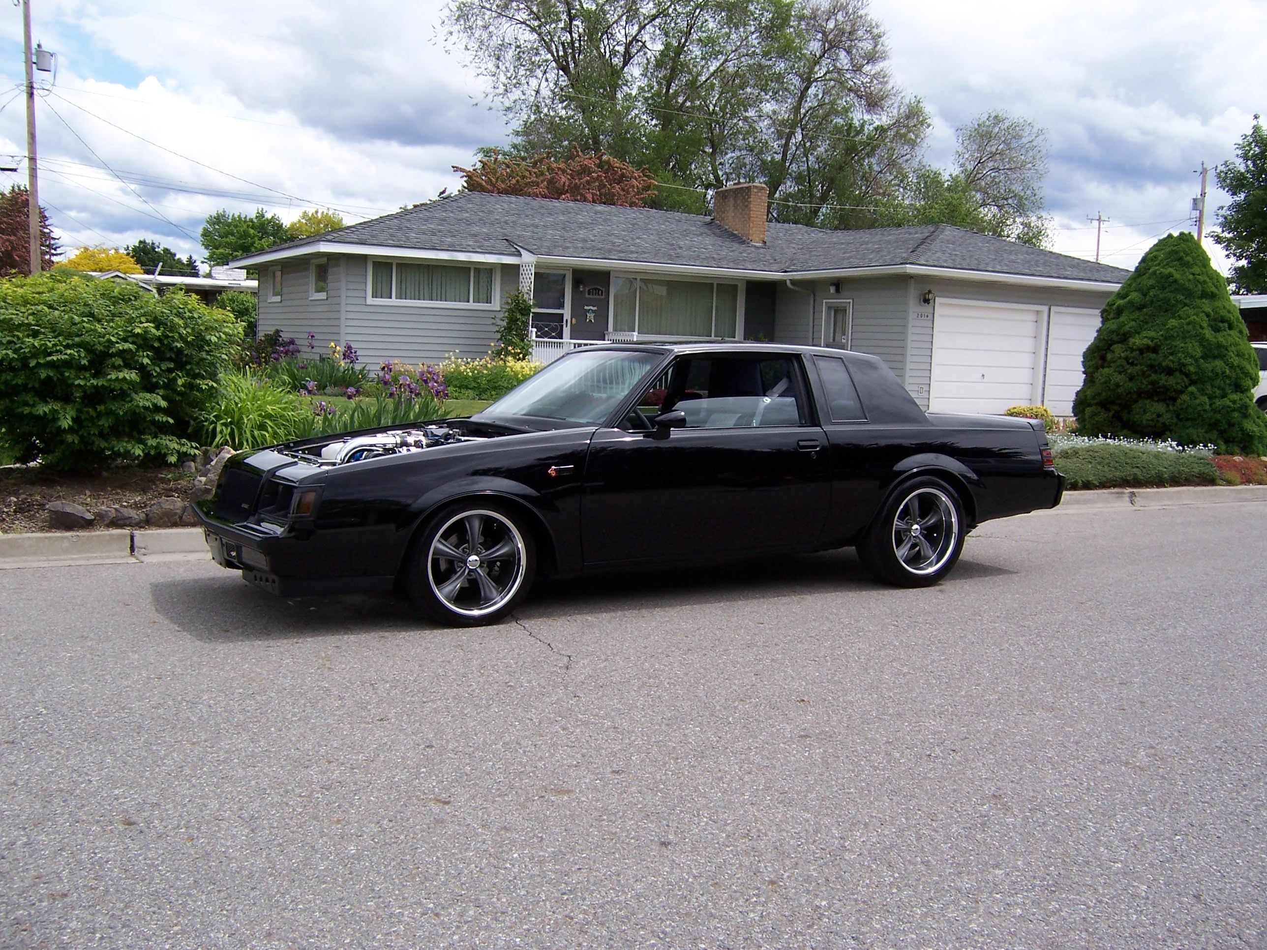 buick grand national with 18in boss 338 wheels real. Black Bedroom Furniture Sets. Home Design Ideas