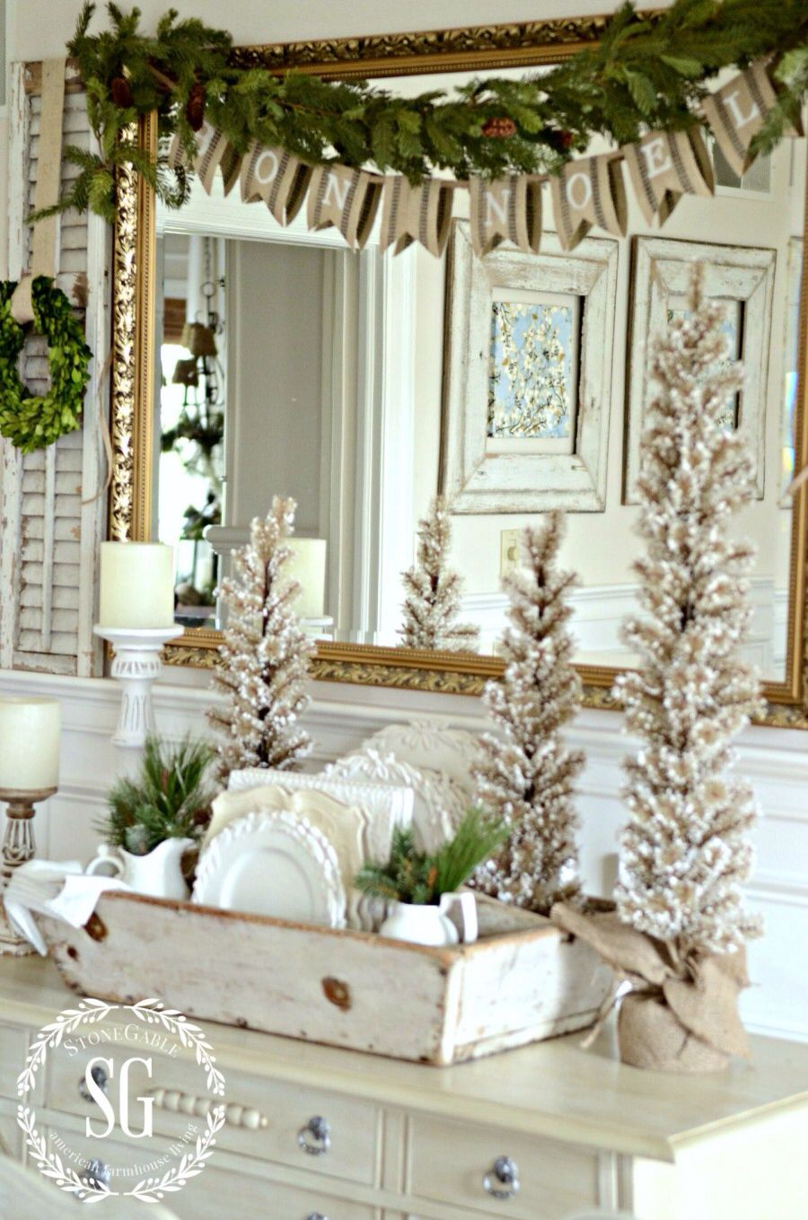 HOW TO FAKE A FRENCH COUNTRY CHRISTMAS LOOK | French country ...
