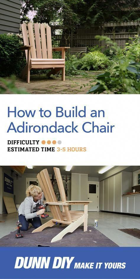 Build This Adirondack Chair Yourself With Our Easy Step By