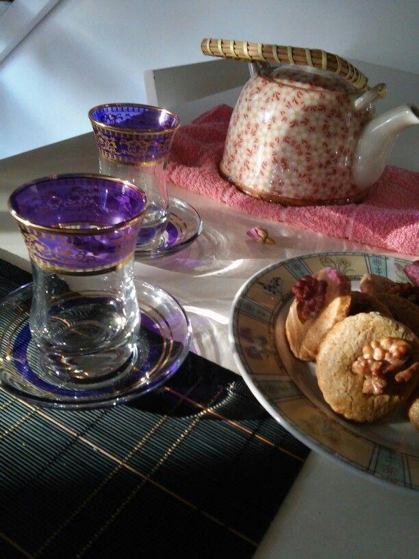 Te tea turco turquia tetera tazas cup