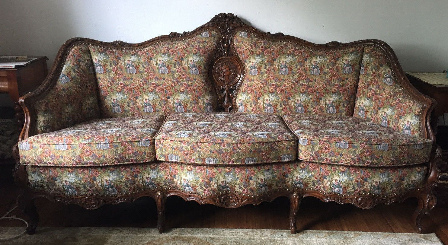 Antique Sofa Couch Chair Parlor Set