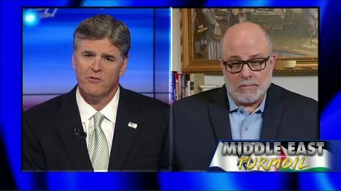 """7/22/14 - Mark Levin : """"I Would Like to Educate Jon Stewart & His Clapping Seal Audience"""" . . . Levin SLAMMED Stewart's """"disinformation"""" & """"propaganda"""" in the form of jokes about Israel & Gaza. . . . 