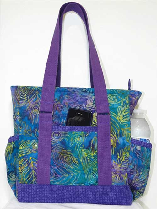 Designer Bag Pattern Mini Professional Tote