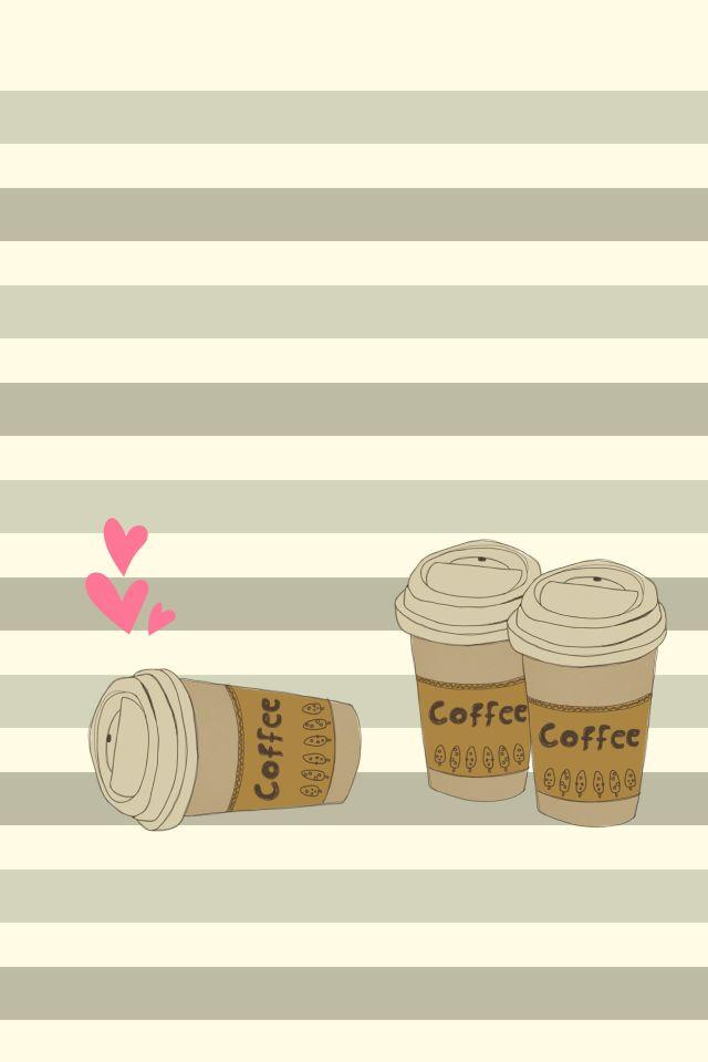 Coffee wallpaper cute backgrounds pinterest - Cute coffee wallpaper ...