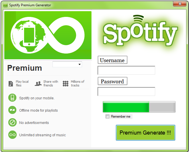 download spotify premium code generator android ios on the web no survey 2015 if you are