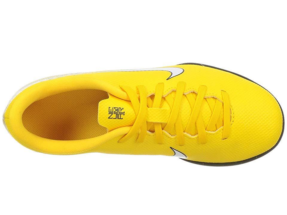 f7d8bed5132 Nike Kids Neymar Jr. VaporX 12 Club TF Soccer (Little Kid Big Kid) Kids  Shoes Amarillo White Black
