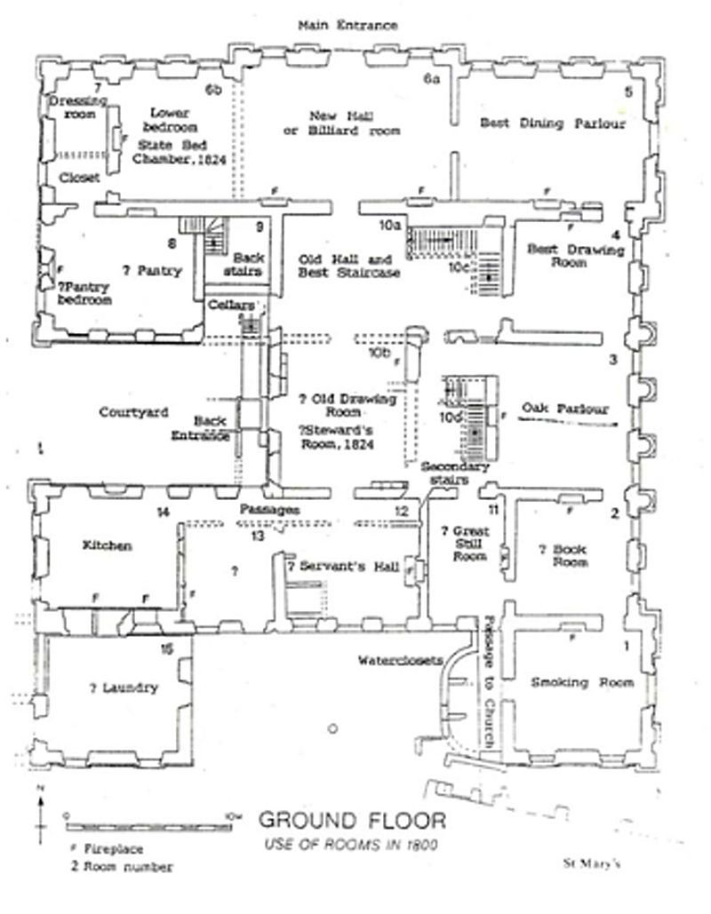 Sutton Scarsdale Hall How To Plan Scarsdale Ground Floor Plan