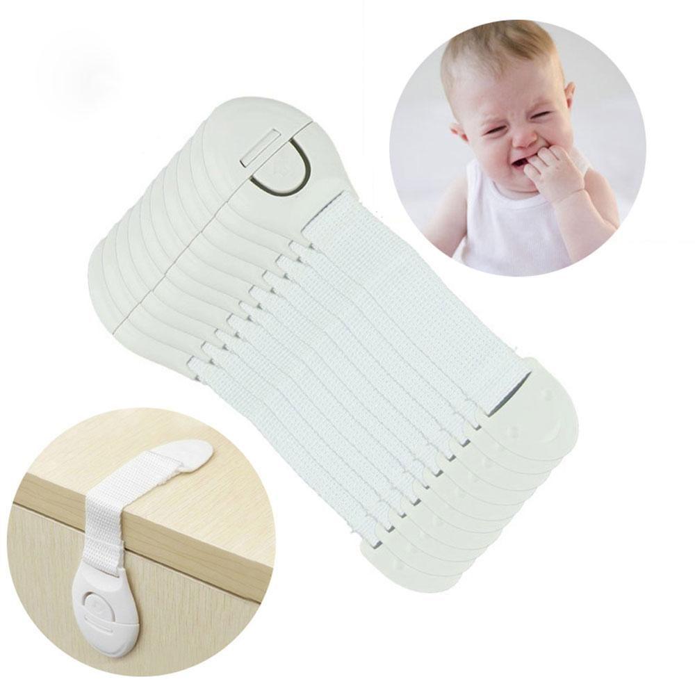Cabinet/Drawer Safety Locks for Children (10Pcs)