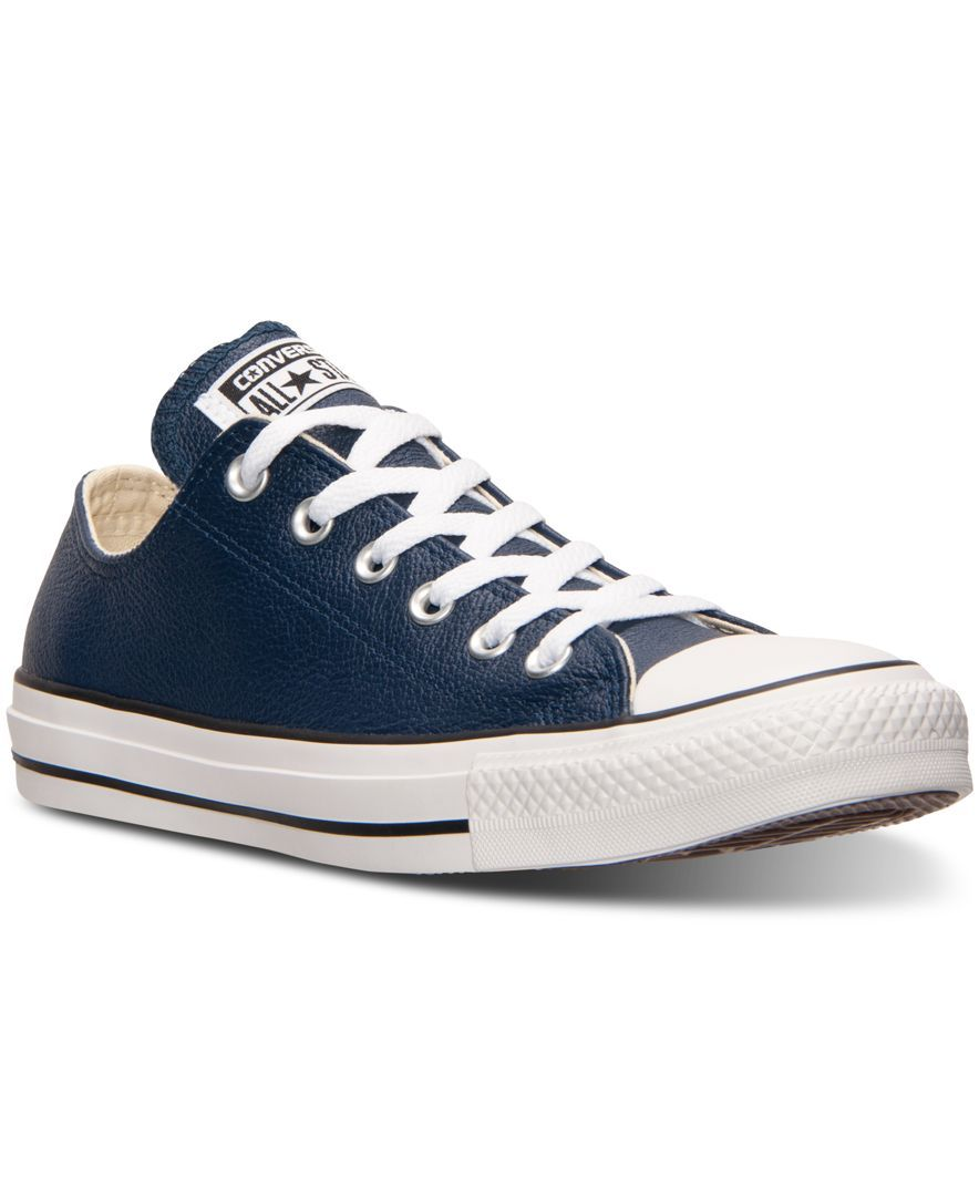99d56d933cbf5c Converse Unisex Chuck Taylor Ox Leather Casual Sneakers from Finish Line