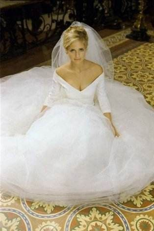 Buffy S Wedding Dress From The Prom
