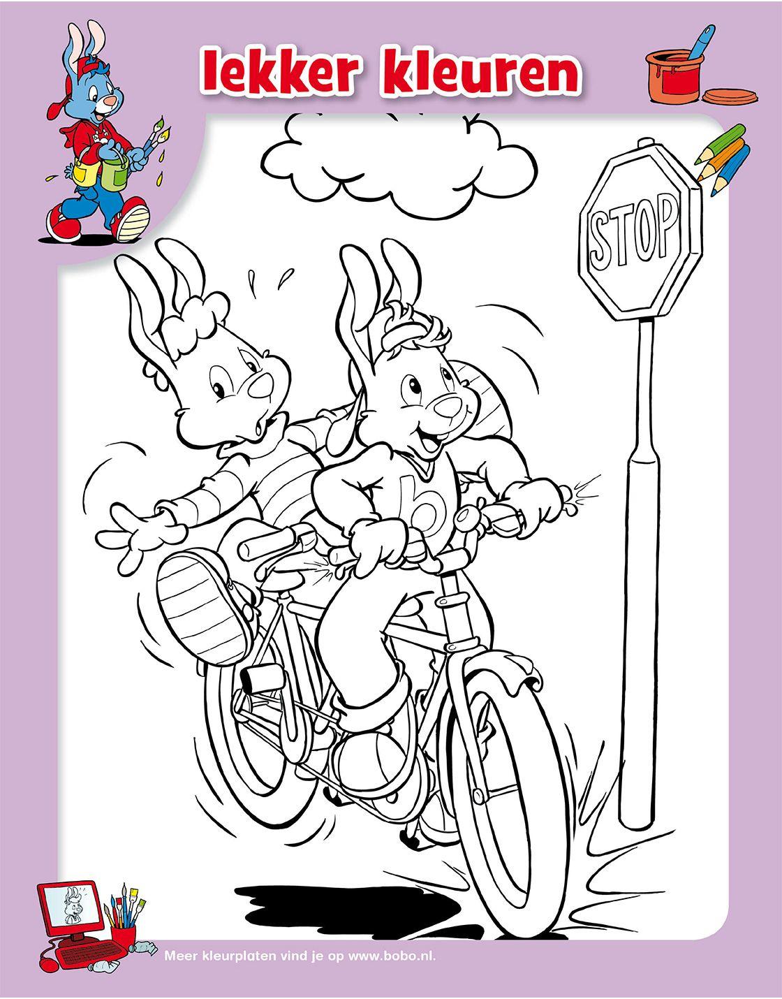 Kleuren Met Bobo En Tjerk Pak Je Kleurtjes En Geef Deze Kleurplaat Kleur In 2021 Kleurplaten Gratis Kleurplaten Kleurplaten Voor Kinderen