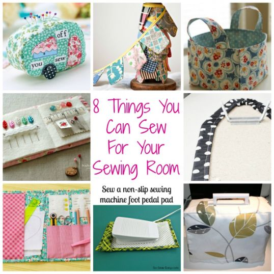8 Things You Can Sew For Your Sewingroom