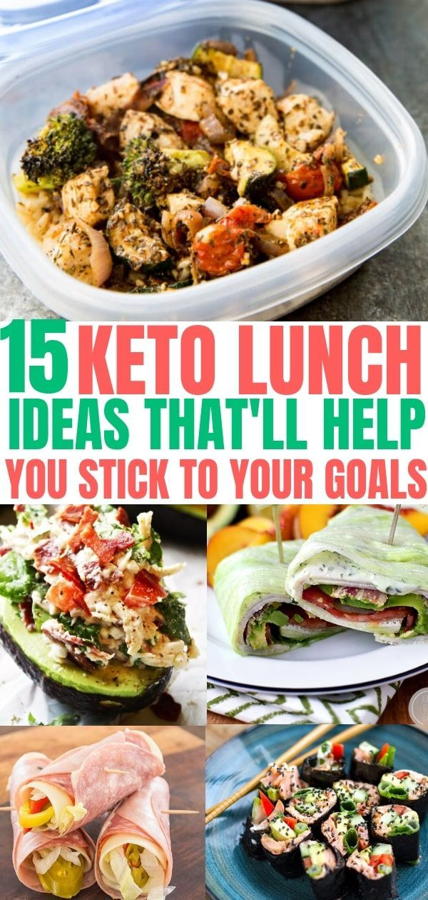 15 Keto Lunch Ideas That You Can Take To Work Easy Low Carb