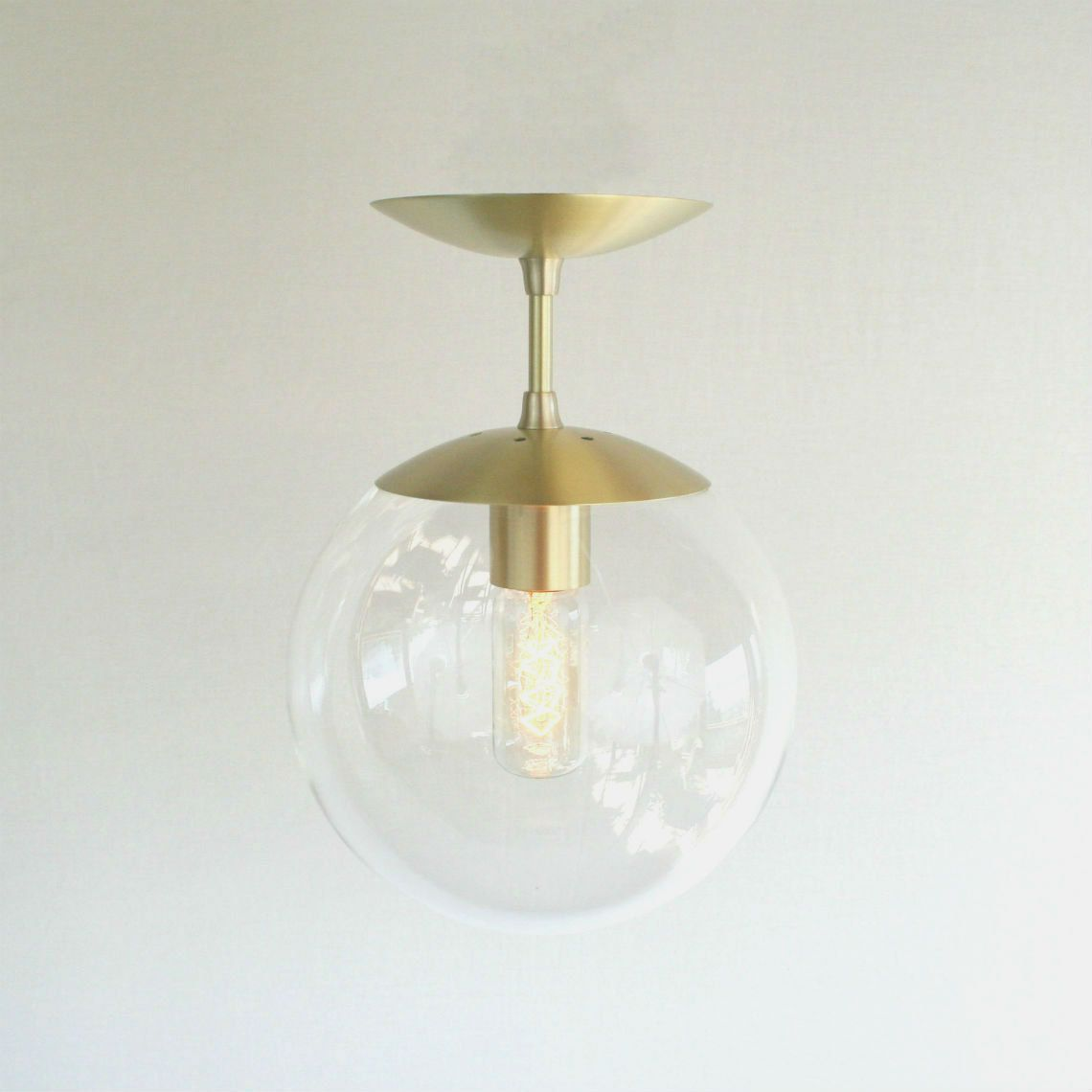 Semi Flush Modern Mid Century Pendant Light Clear 8 Globe The Orbiter Neckless Pendants Were A Staple Of