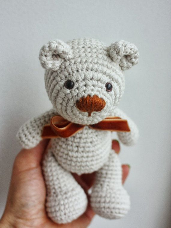 20+ Free Crochet Teddy Bear Patterns ⋆ Crochet Kingdom | 759x570