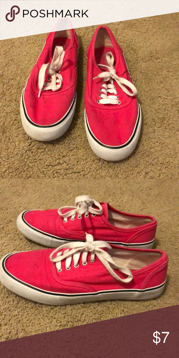 "Hot pink Target ""vans"" Really cute sneakers from Target that"