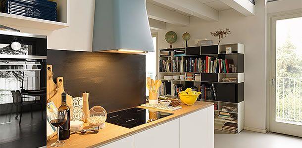 Dunstabzug für Wohnküchen Wohnküche, Wohnen und Moderne