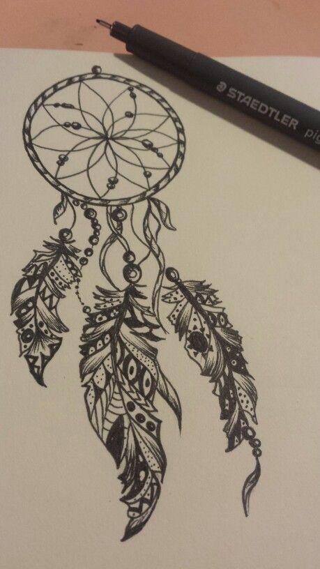 Acchiappasogni black e white miei disegni tatuajes for Acchiappasogni disegno