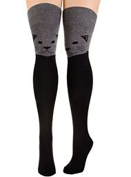 New Arrivals - The Cats Meow Thigh High Socks by Socksmith Design, Inc. Socks