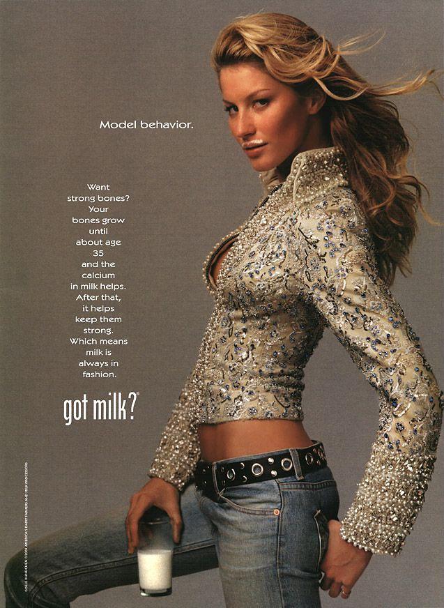 Got Milk Gisele Bundshun Got milk in 2019 Got milk