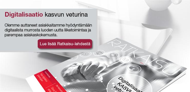 Digitalisaatio kasvun veturina - Lue Ratkaisu-lehti