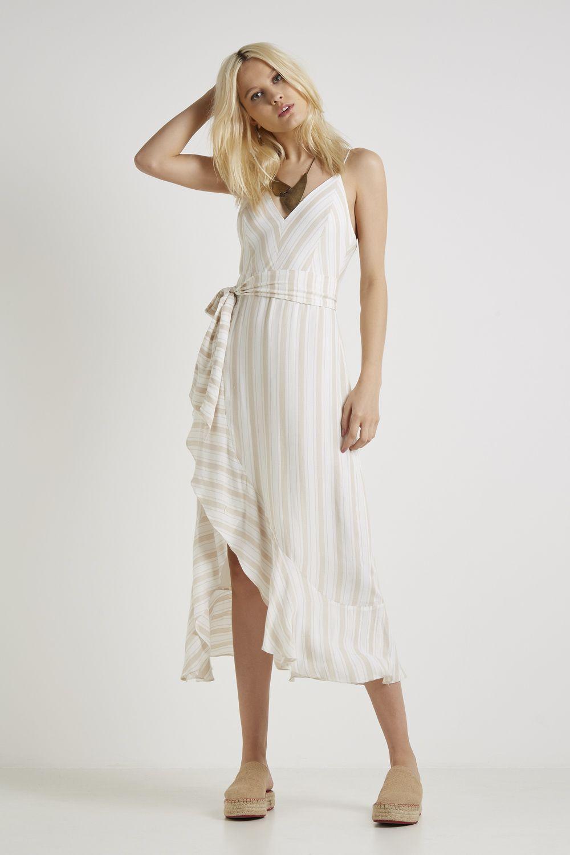 5a96b00a6 Vestido Midi Listra Gold em 2019   Shopping   Dresses, Vestidos e ...