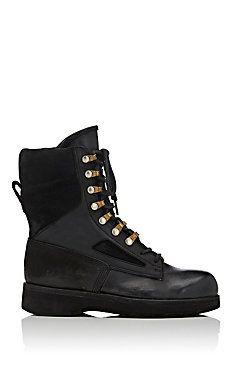 Hender Scheme Black Lace-Up Boots yIFskv2