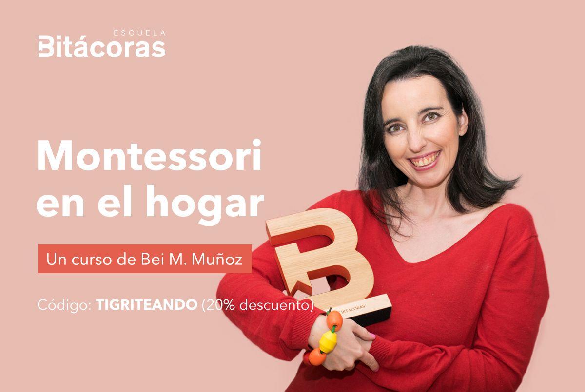 Videocurso para la Escuela Bitacoras Montessori en el hogar - Tigriteando