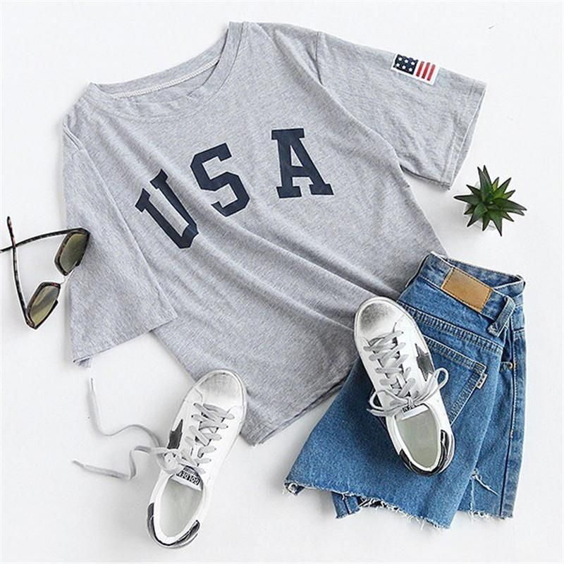 Usa Grey Drop Shoulder Top In 2019 Cute Summer Outfits For Teens