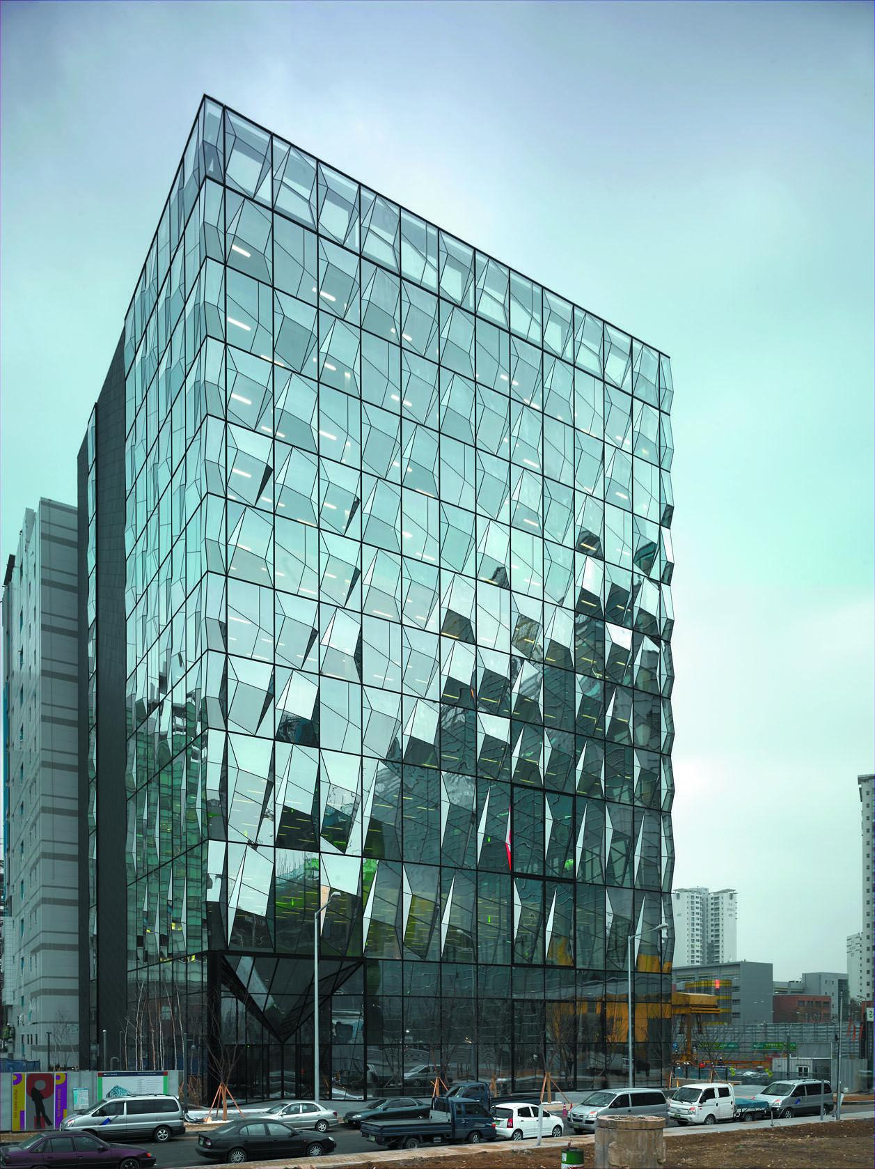Trutec Building In Seoul South Korea By Barkow Leibinger Architekten