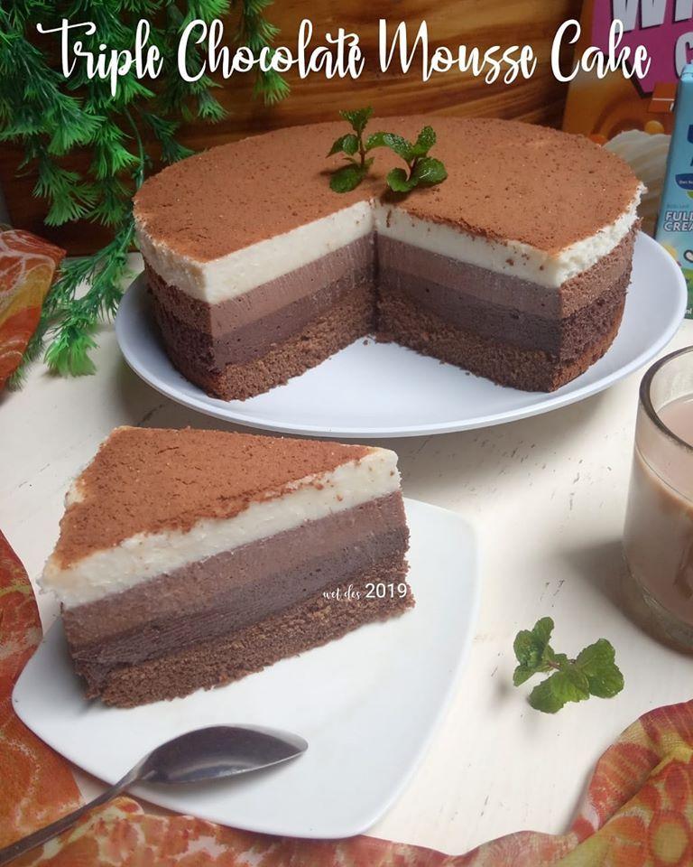 Pin Di Resep Kue Coklat