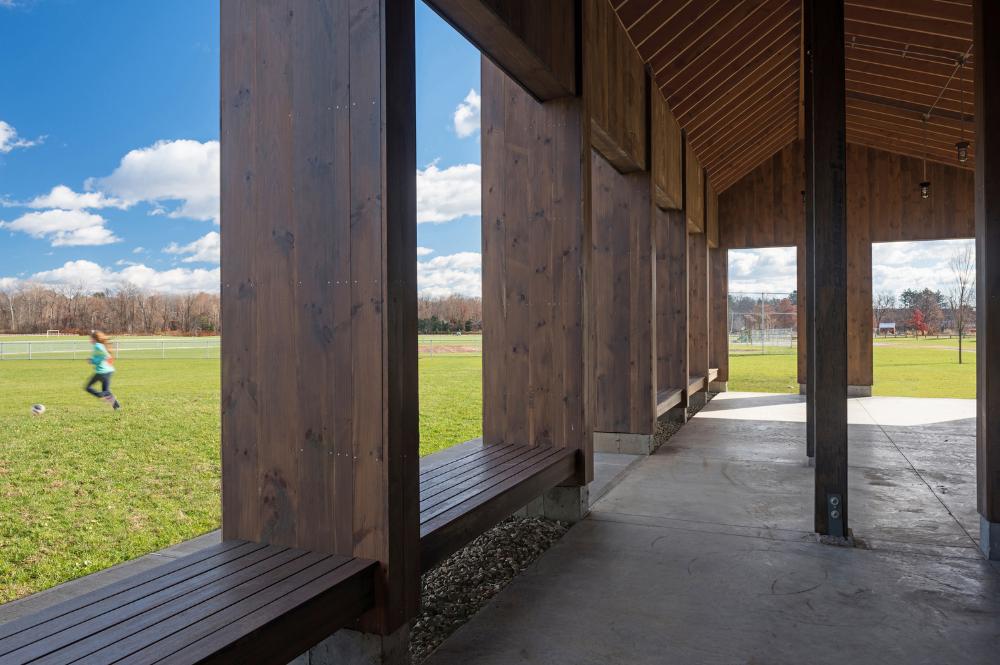 Gallery of Florence Recreation Pavilion / Morgan Studio ...