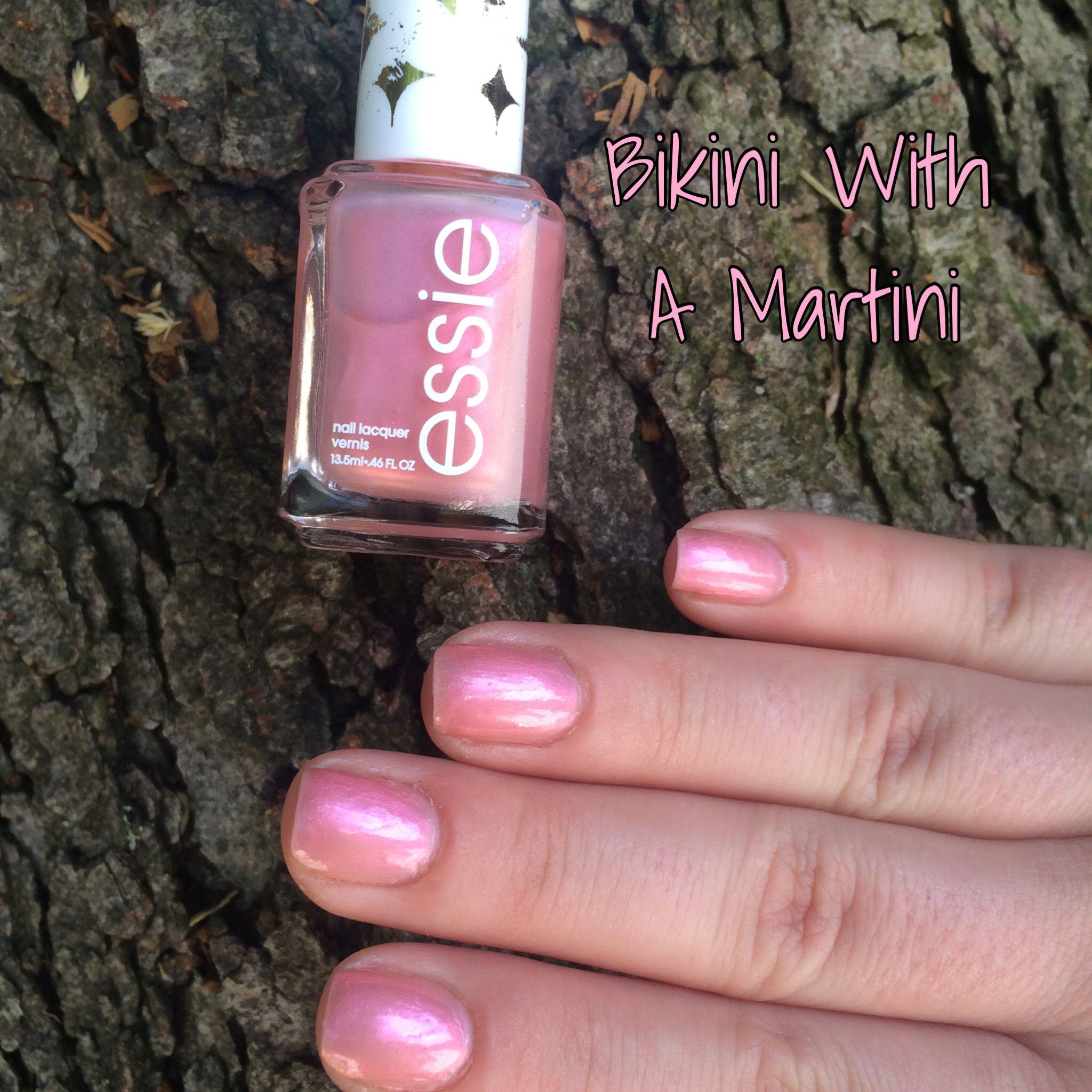 108. Essie: Bikini With A Martini #Nails #NailSwatch #Essie ...