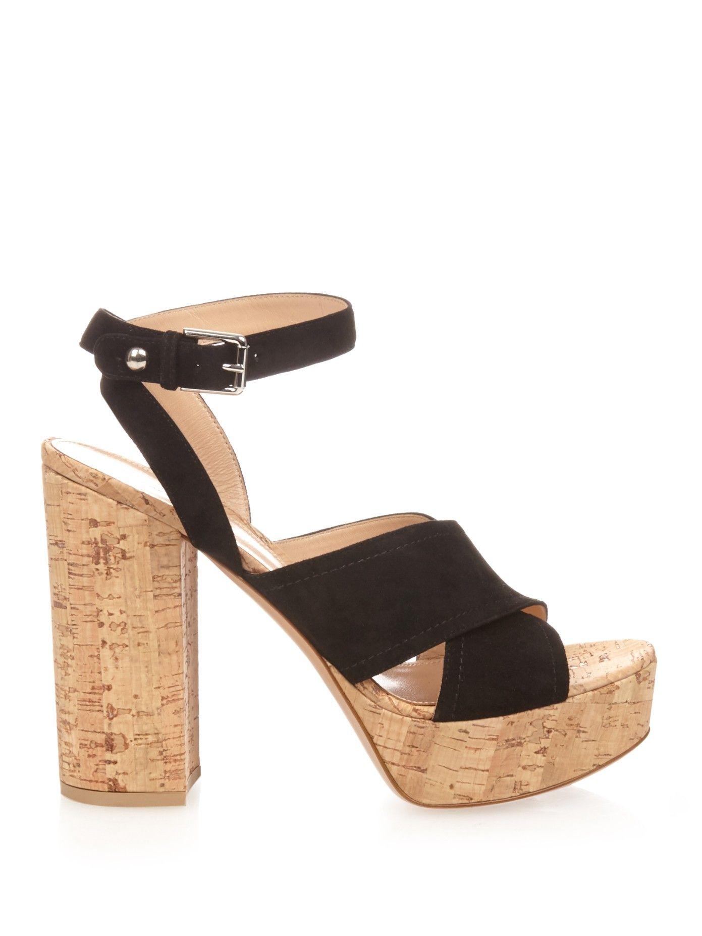 9e02c13c566 Suzie suede platform sandals