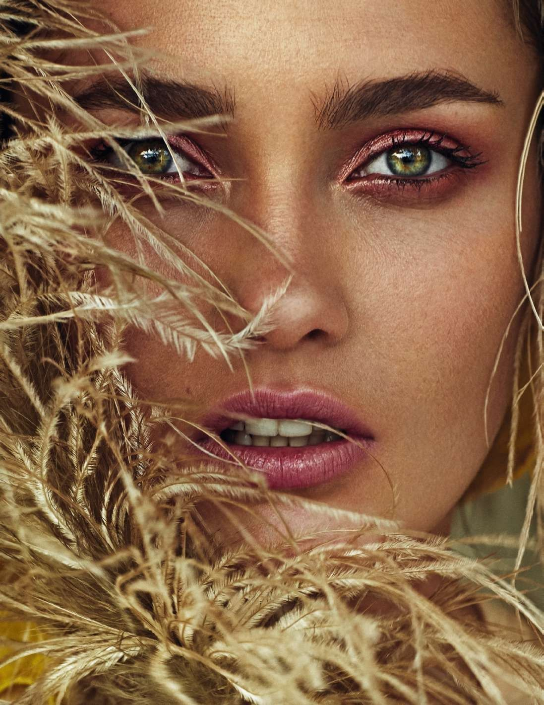 "bestfashionphoto: "" Karmen Pedaru in Elle Spain June 2017 Ph: Xavi ..."
