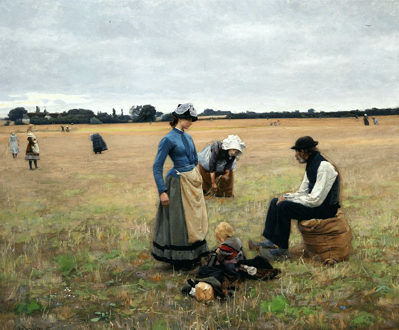 H A Brendekilde In The Field 1887 Art Andersen Scandinavian Art