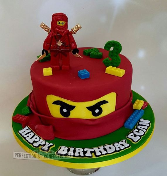 Egan Ninjago Lego Birthday Cake Dublin Job photos Pinterest