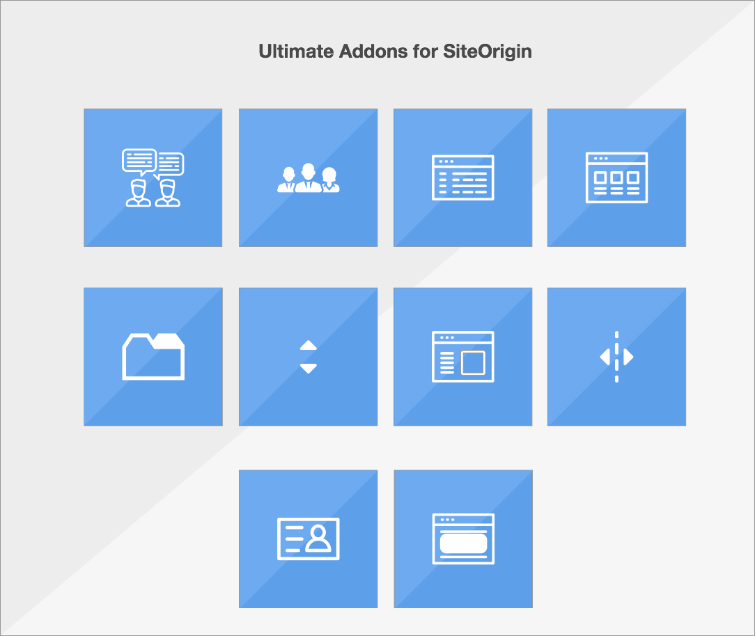 Ultimate Addons for SiteOrigin | tech | Wordpress plugins