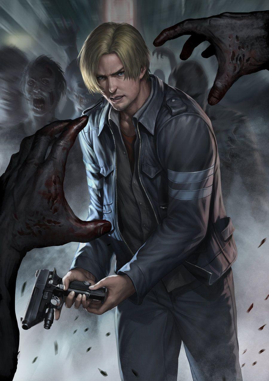 Resident Evil 6 Leon By Chrisnfy85 On Deviantart Love Leon