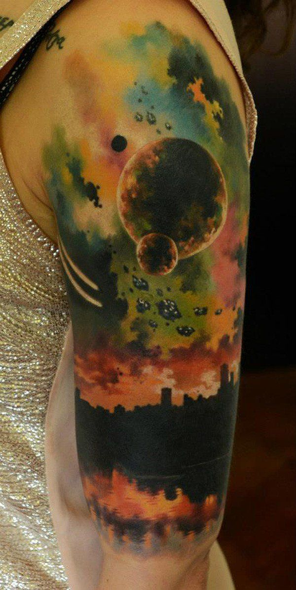 50+ Examples of Colorful Tattoos